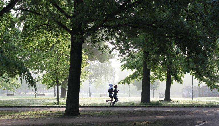 jogging-movimento durante il COVID 19